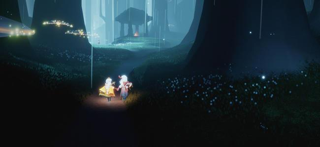 光遇荧光森林冥想在哪