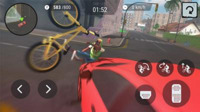 疯狂自行车3d无限金币安卓版截图2