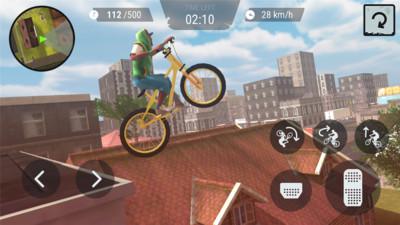 疯狂自行车3d无限金币安卓版截图1