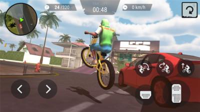 疯狂自行车3d无限金币安卓版截图3
