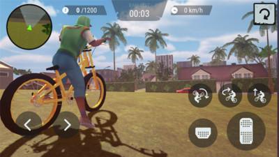 疯狂自行车3d无限金币安卓版截图4