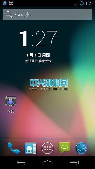 中兴Q802T刷机包原生安卓4.3 CM10.2完善版