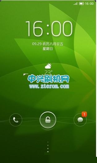中兴U956乐蛙OS下载 完美移动3G上网