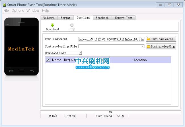 中兴Blade A2线刷工具SP_Flash_Tool_v5.1612.00下载